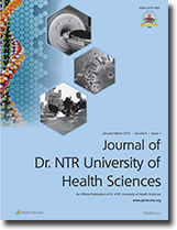 Journal of Dr. NTR University of Health Sciences
